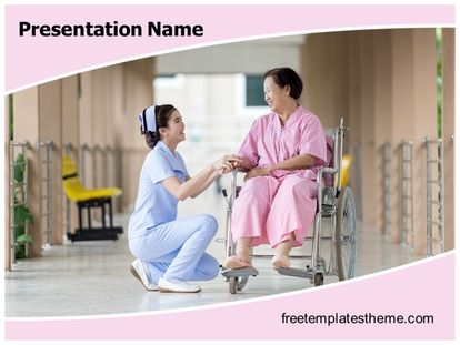 Free Nursing PowerPoint Template | freetemplatestheme.com