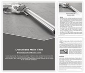 Free Old Gun Word Template Background, FreeTemplatesTheme