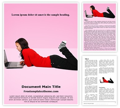 Online Affair Free Word Document Template, freetemplatestheme.com
