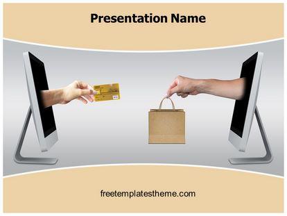 Free online shopping powerpoint template freetemplatestheme slide1g toneelgroepblik Gallery