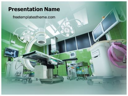 Free Operation Theatre Room Powerpoint Template
