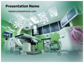 Free Operation Theatre Room PowerPoint Template Background, FreeTemplatesTheme