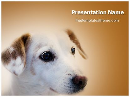 Free pet dog powerpoint template freetemplatestheme slide1g toneelgroepblik Choice Image