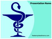 Free Pharmacy Symbol PowerPoint Template Background, FreeTemplatesTheme