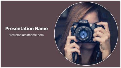 Free photography powerpoint template freetemplatestheme slide1g toneelgroepblik Gallery