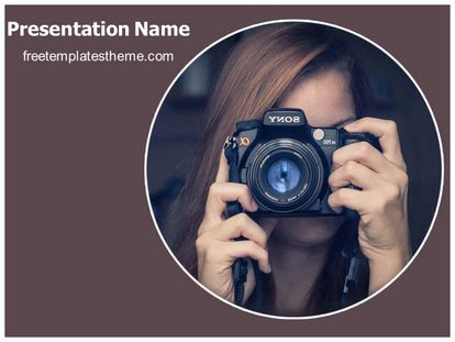 Free photography powerpoint template freetemplatestheme slide1g toneelgroepblik Choice Image