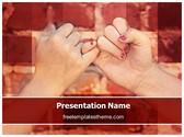 Free Pinky Swear PowerPoint Template Background, FreeTemplatesTheme