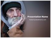 Free Poverty PowerPoint Template Background, FreeTemplatesTheme