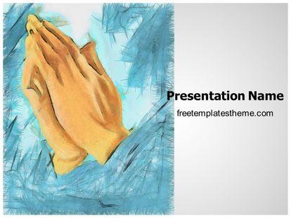 Free praying hands powerpoint template freetemplatestheme slide1g toneelgroepblik Choice Image
