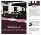 Free Public Washroom Word Template Background, FreeTemplatesTheme