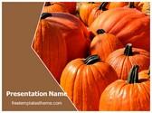 Free Pumpkins PowerPoint Template Background, FreeTemplatesTheme