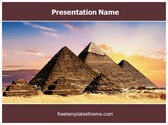 Free Pyramids PowerPoint Template Background, FreeTemplatesTheme