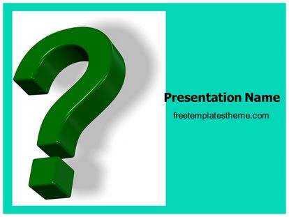 Free question mark powerpoint template freetemplatestheme slide1g toneelgroepblik Images