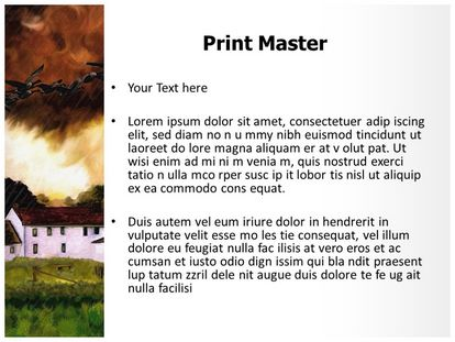 Free rain painting powerpoint template freetemplatestheme slide1g slide2g slide3g toneelgroepblik Gallery