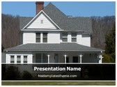 Free Real Estate Home PowerPoint Template Background, FreeTemplatesTheme