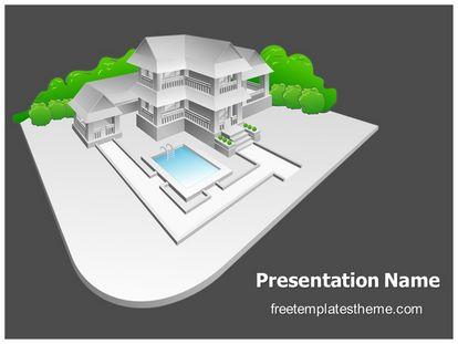 Free real estate model powerpoint template freetemplatestheme slide1g toneelgroepblik Gallery