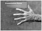 Free Rheumatoid Arthritis PowerPoint Template Background, FreeTemplatesTheme