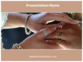 Free Rings Vows PowerPoint Template Background, FreeTemplatesTheme