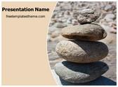 Free Round Stones PowerPoint Template Background, FreeTemplatesTheme