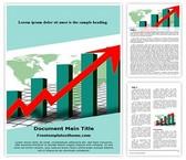 Free Sale Statistics Word Template Background, FreeTemplatesTheme