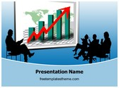 Free Sales Meeting PowerPoint Template Background, FreeTemplatesTheme