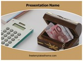 Free Savings PowerPoint Template Background, FreeTemplatesTheme