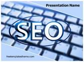 Free Search Engine Optimization PowerPoint Template Background, FreeTemplatesTheme