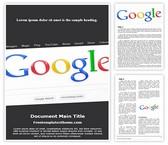 Free SEO Google Word Template Background, FreeTemplatesTheme