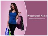 Free Shopping PowerPoint Template Background, FreeTemplatesTheme