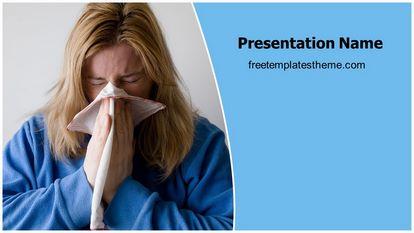 Sneezing Free PPT Template Widescreen FreeTemplatesTheme