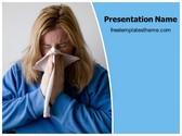 Free Sneezing PowerPoint Template Background, FreeTemplatesTheme