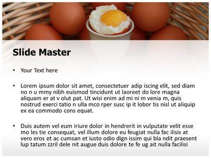 Soft Boiled Egg Free Powerpoint Template Slide2