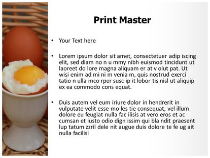 Soft Boiled Egg Free Powerpoint Template Slide3