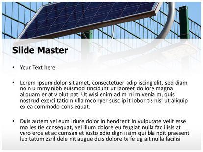 Free Solar Energy Light Powerpoint Template Freetemplatestheme