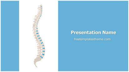 Spine Free PPT Background Template Widescreen FreeTemplatesTheme