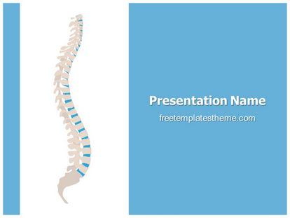 Spine Free PPT Background Template freetemplatestheme.com