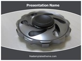 Free Spinner PowerPoint Template Background, FreeTemplatesTheme