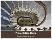 Free Staircase PowerPoint Template Background, FreeTemplatesTheme