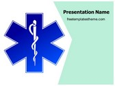 Free Star of Life PowerPoint Template Background, FreeTemplatesTheme
