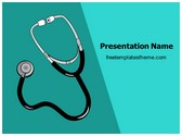 Free Stethoscope PowerPoint Template Background, FreeTemplatesTheme