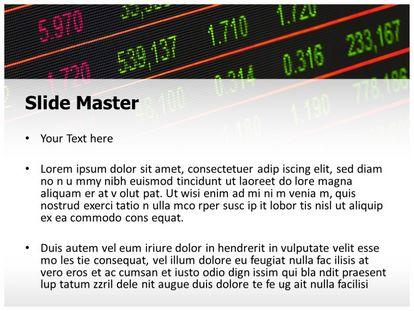 Stock Market Board Free PPT Template Slide2