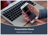 Free Stock Market Investment PowerPoint Template Background, FreeTemplatesTheme