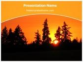 Free Sunrise PowerPoint Template Background, FreeTemplatesTheme