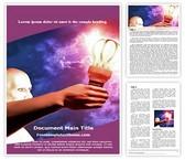 Free Supernatural Power Word Template Background, FreeTemplatesTheme