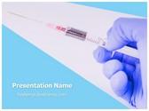 Free Syringe PowerPoint Template Background, FreeTemplatesTheme