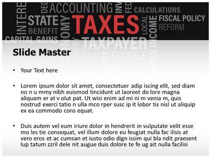 Free taxes powerpoint template freetemplatestheme slide1g slide2g toneelgroepblik Choice Image