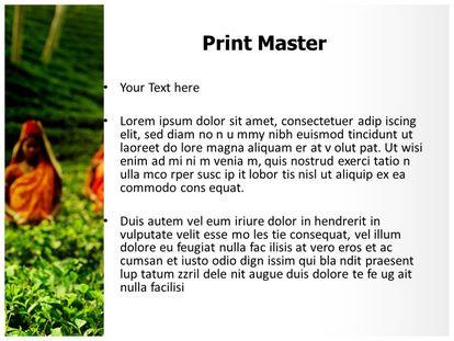 Tea Farmer Free Powerpoint Template Design Slide3