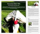 Free Tea Plantation Agriculture Word Template Background, FreeTemplatesTheme