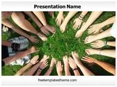 Free Teen Team PowerPoint Template Background, FreeTemplatesTheme