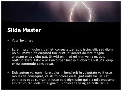 Free thunderstorm powerpoint template freetemplatestheme slide1g slide2g toneelgroepblik Image collections
